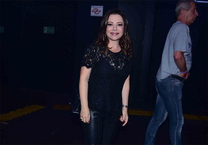 Noely, esposa de Xororó (Crédito: Léo Franco / AgNews)