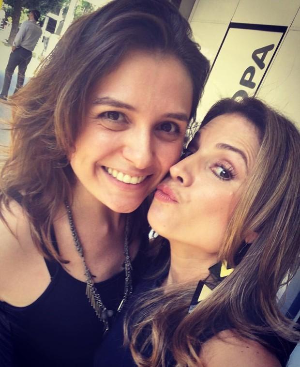 Monica Iozzi e Maíra Charken (Crédito: Reprodução/Instagram)