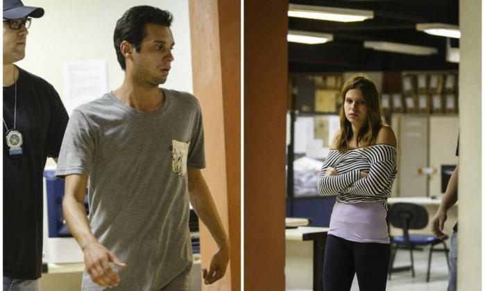 Lucas e Bianca agrediram e esfaquearam médico  (Crédito: Reprodução)
