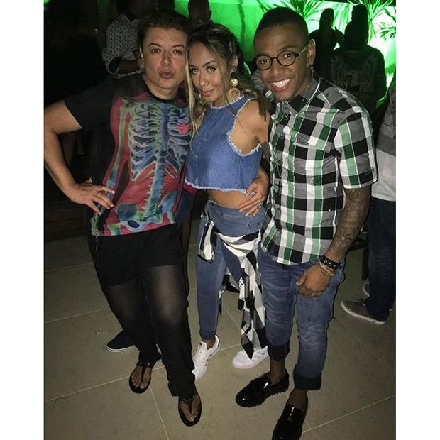 Anitta comemora aniversário no Rio com presença de famosos (Crédito: Reprodução)