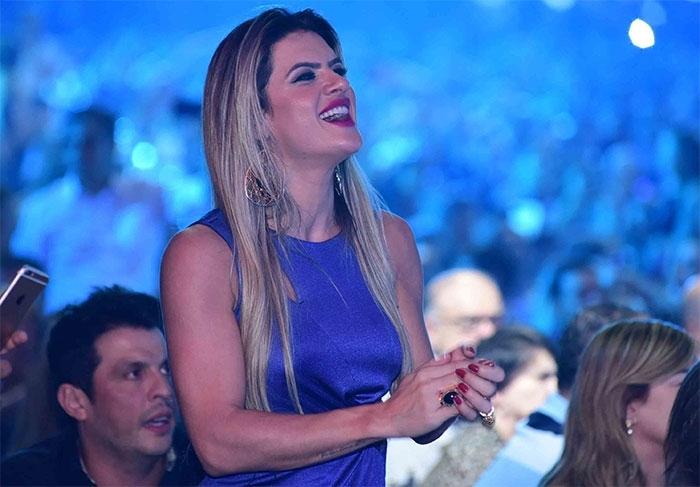 Mirella Santos e Wellington Muniz (Crédito: Léo Franco / AgNews)
