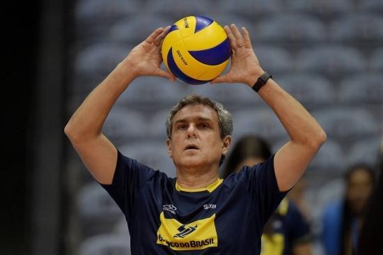 Técnico da Seleção Brasileira feminina de vôlei, José Roberto Guimarães