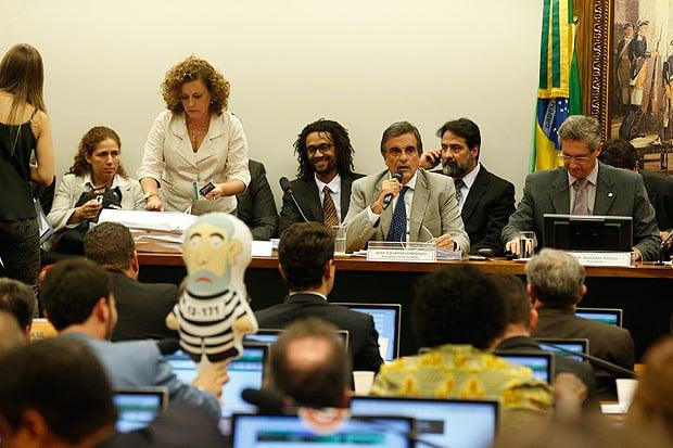 José Eduardo Cardozo fez a defesa de Dilma  (Crédito: Estadão)