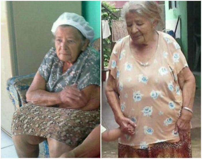 Maria Pedroso da Silva, de 83 anos (Crédito: Reprodução)
