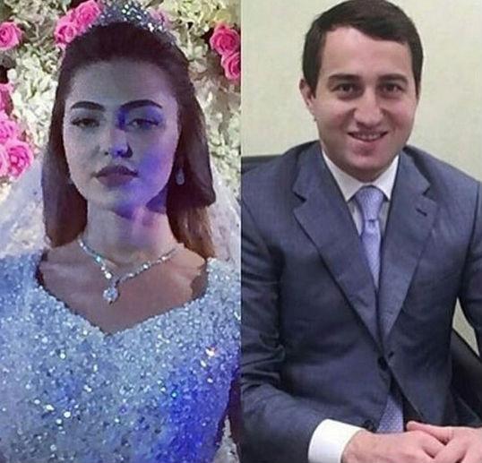 Magnata Said Gutseriev, de 28 anos, e a noiva, a estudante de odontologia Khadija Uzhakhovs