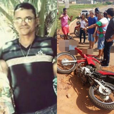 Homem morreu em acidente em Picos (Crédito: Reprodução)