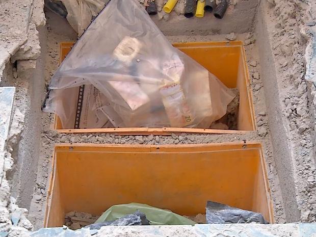 Polícia encontra mais de R$100 mil enterrados em casa  (Crédito: Reprodução)
