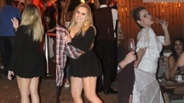 Paulinha é barrada em festa de Ana Paula (Crédito: Reprodução)