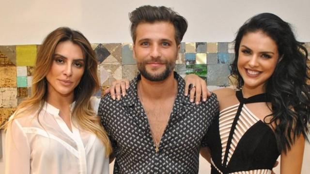 Cleo Pires, Bruno Gagliasso e Paloma Bernardi (Crédito: Reprodução)