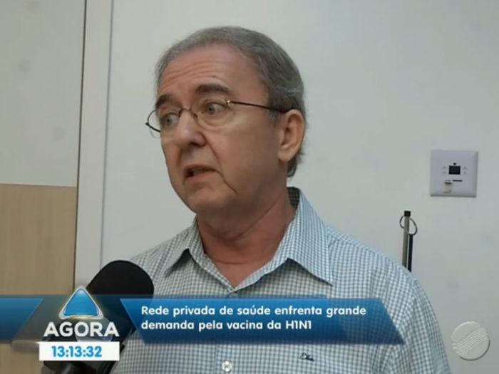 Médico Carlos Roberto (Crédito: Reprodução TV Meio Norte)