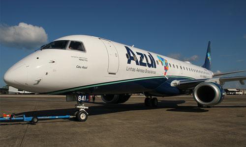 Azul retomará voo para Parnaíba