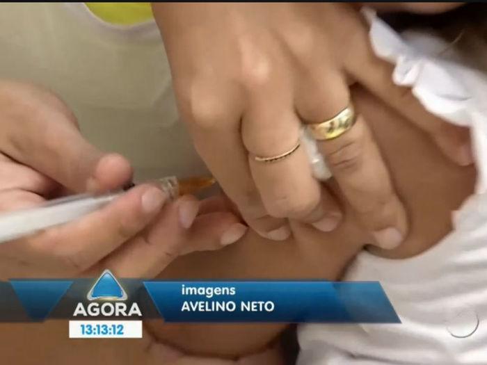 Vacinação (Crédito: Reprodução TV Meio Norte)