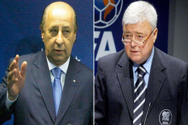 Del Nero e Ricardo Teixeira serão convocados pela CPI do futebol (Crédito: Reprodução)