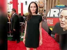 Pesando 35 kg Angelina Jolie é internada em estado grave