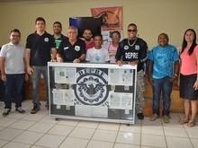 Equipe DEPRE realiza palestra preventiva contra drogas