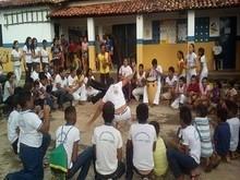 Instrutores Guerreiro e Bodioga realizam belo trabalho de Capoeira