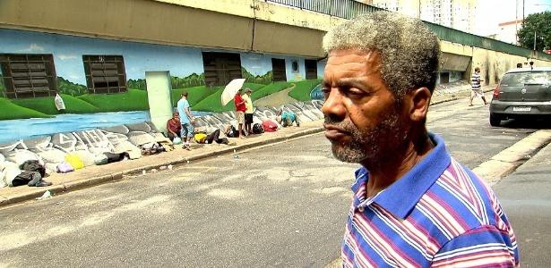 Edson Café virou morador de rua  (Crédito: Divulgação)