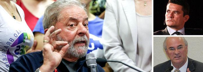 Defesa de Lula pede ao STF que Moro seja investigado (Crédito: Reprodução)