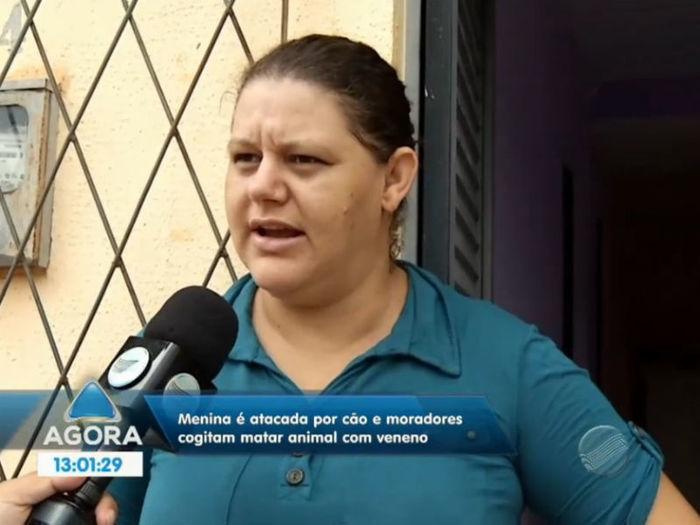 Mãe da vítima (Crédito: Reprodução TV Meio Norte )