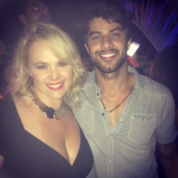 Pituxita posou com Renan  (Crédito: Reprodução/ Instagram)