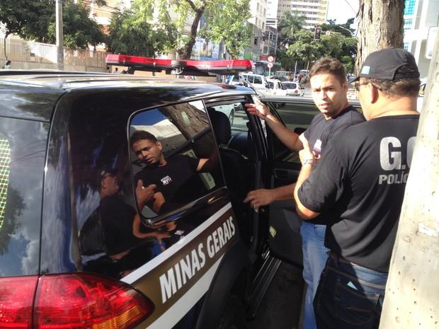 Linton Wallis Figueiredo Souza foi preso na manhã de hoje