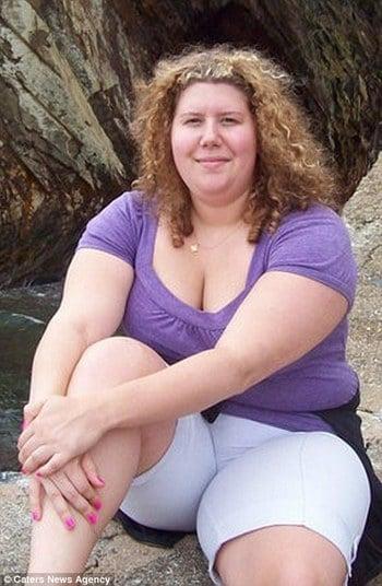 Donna Marie Gillie pesava 104 Kg
