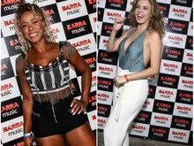 Ex-BBB Ana Paula vai a show de Anitta e alfineta Adélia