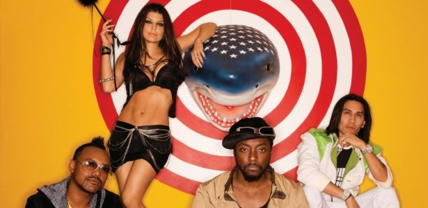 Os integrantes do Black Eyed Peas em foto de divulgação (Crédito: Divulgação)