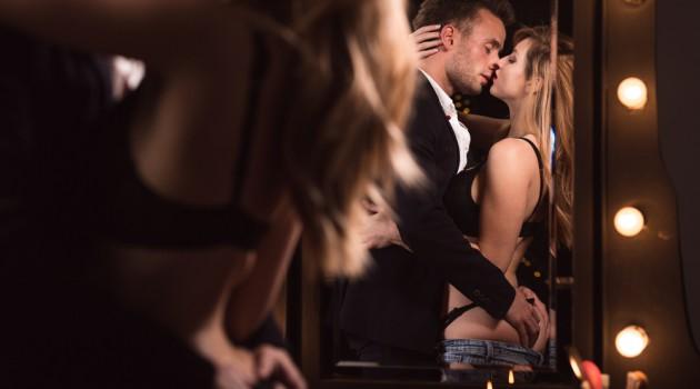 Uso do espelho na hora do sexo (Crédito: Reprodução)