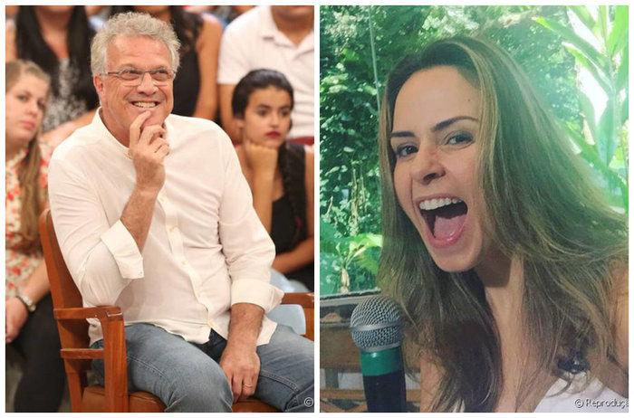 Pedro Bial fala sobre Ana Paula (Crédito: Rerprodução)