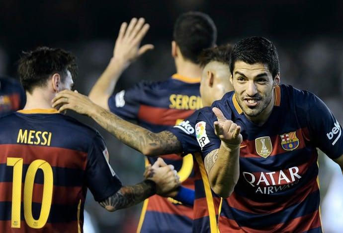 Com mais um de Suárez, MSN bate recorde de gols da última temporada (Crédito: Reprodução)