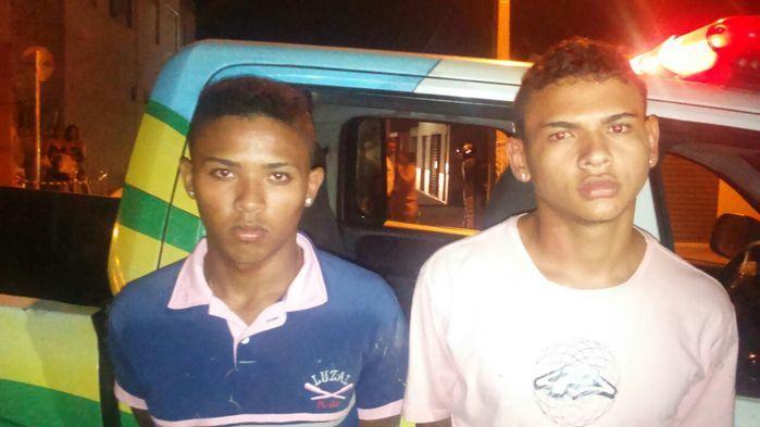 Jovens são presos na zona sudeste de Teresina (Crédito: Reprodução)