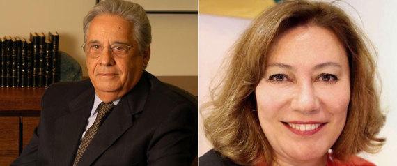 Ex-presidente FHC e Mirian Dutra