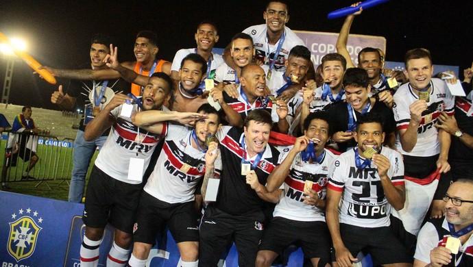 Santa Cruz é campeão da Copa do Nordeste