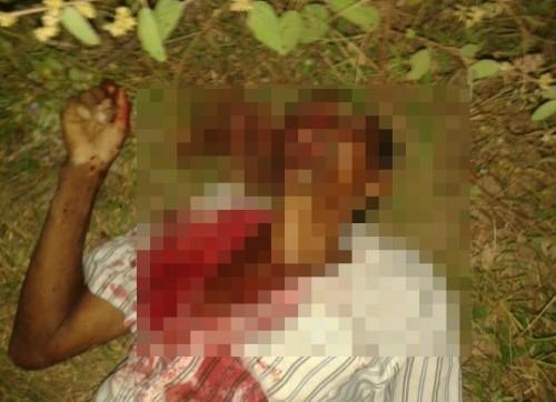 José Pinto, de 63 anos, morto a facadas em Regeneração (Crédito: Somosnoticia)