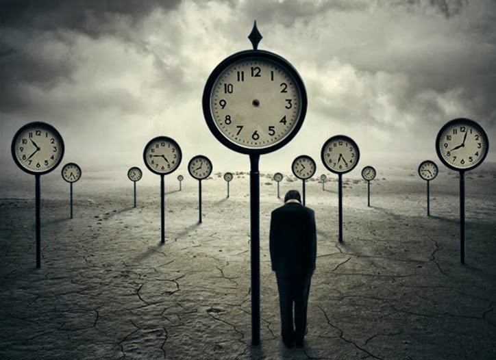 O tempo é uma ilusão
