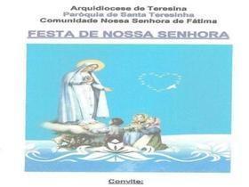 Festejos de Nossa Senhora de Fátima inicia neste domingo (01/05)