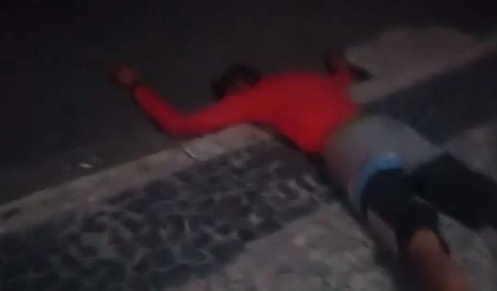 Homem caiu do prédio ao tentar furtar (Crédito: Reprodução)