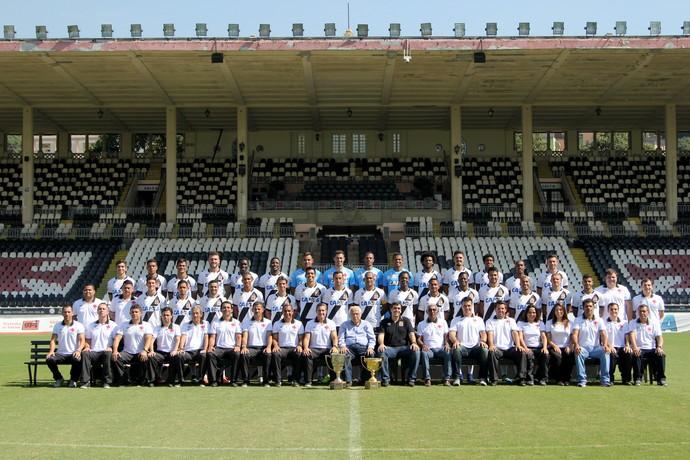 Foto oficial do time campeão (Crédito: Paulo Fernandes)