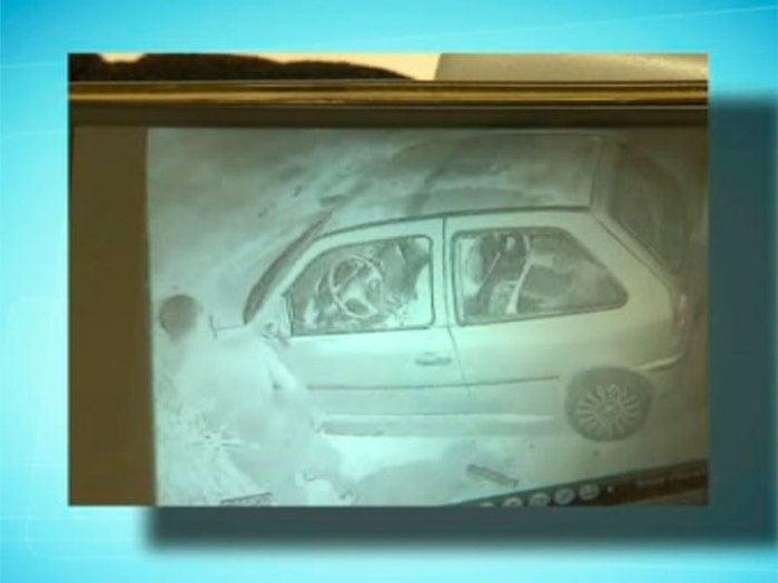 Imagens de câmeras de segurança (Crédito: Reprodução)