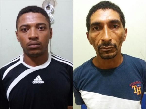 Edwillamy Vieira dos Santos e João de Deus Rodrigues Chaves (Crédito: Divulgação)
