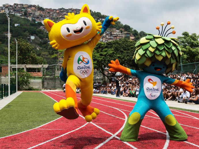 Mascotes das Olimpíadas do Rio (Crédito: Reprodução)