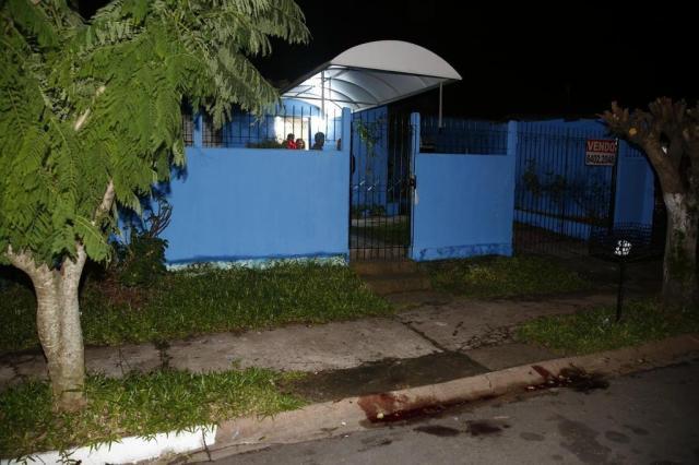 Local onde Brigada Militar Tadeu Dal'Lago foi morto