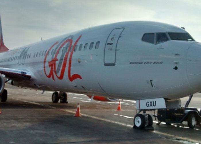Boeing 737-800 da Gol (Crédito: Divulgação)