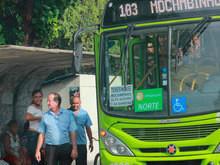 Strans altera horários e itinerários de ônibus para facilitar acess