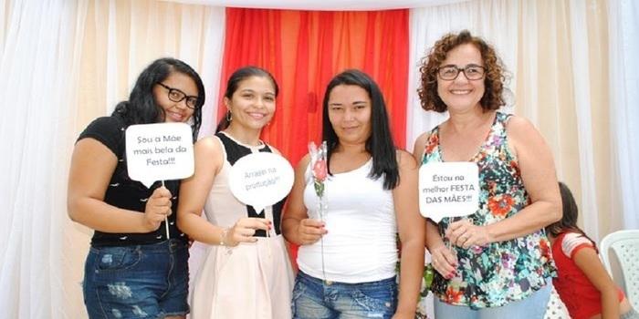 Município realiza festa em comemoração ao dia das mães