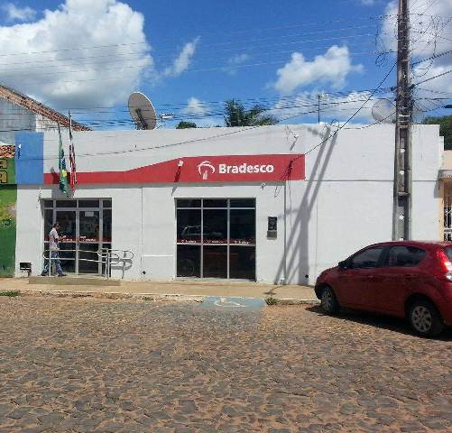 Banco Bradesco da cidade de São João dos Patos (Crédito: Oquartopoder)