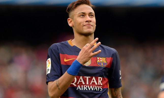 Neymar (Crédito: AFP)