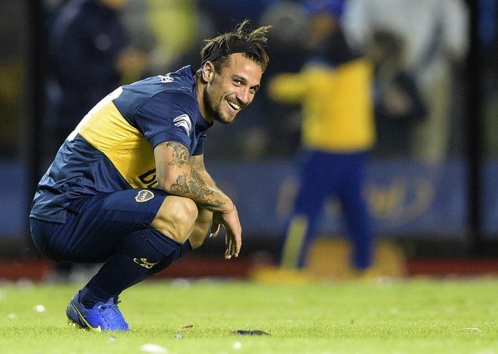 Atacante Daniel Osvaldo (Crédito: Reprodução)