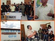 PREFEITO empossa cinco policiais em Nossa Srª dos Remédios/PI